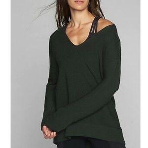 Athleta Merino V-Neck Sweater